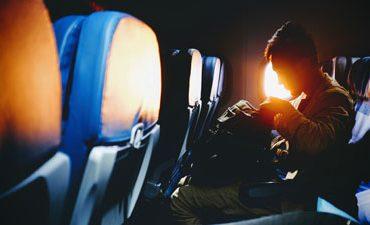 Защита вашего слуха на борту самолёта